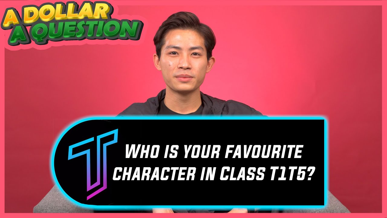 """My Favourite Class T1T5 Character Is"""