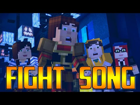 Minecraft Storymode - Fight song