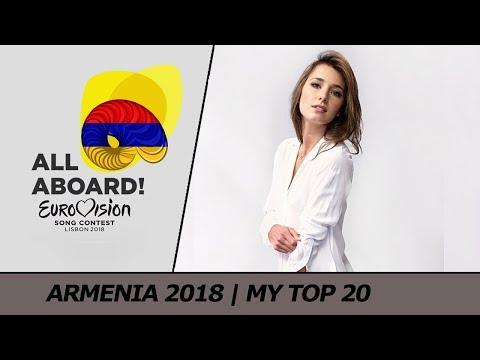 Eurovision 2018 ARMENIA (Depi Evratesil) | My Top 20