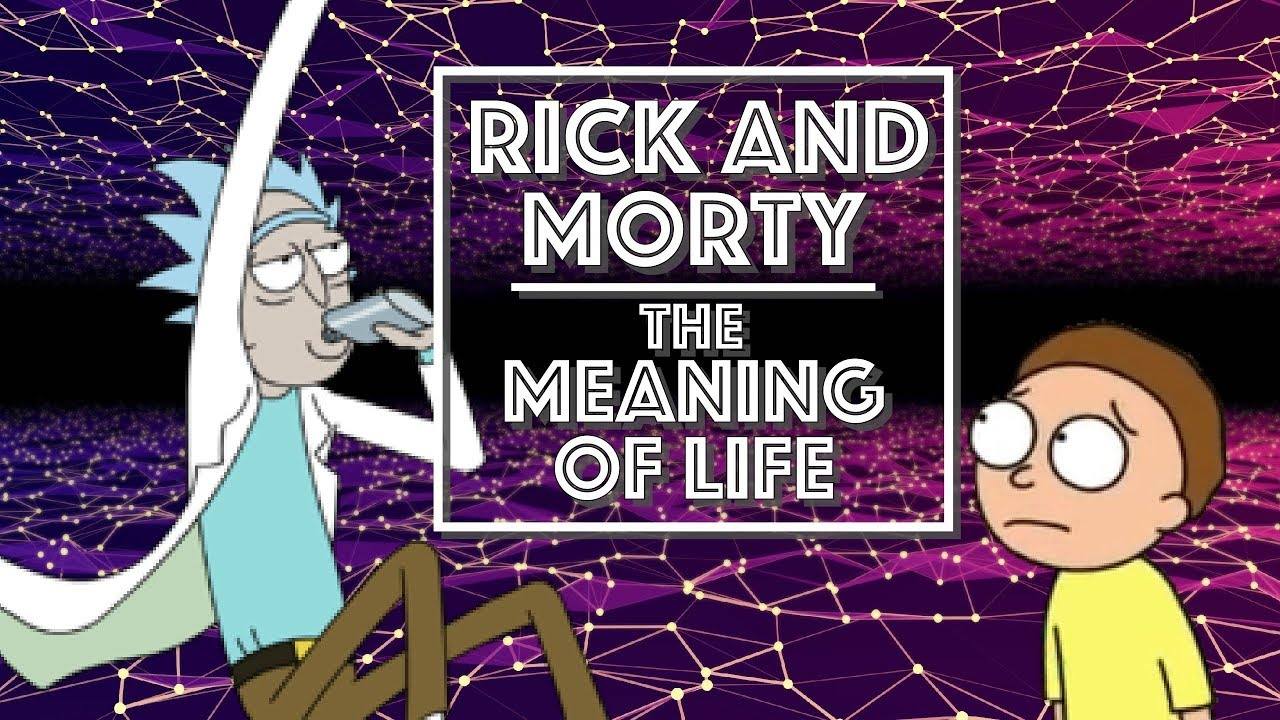 rick and morty the meaning of life video essay  rick and morty the meaning of life video essay