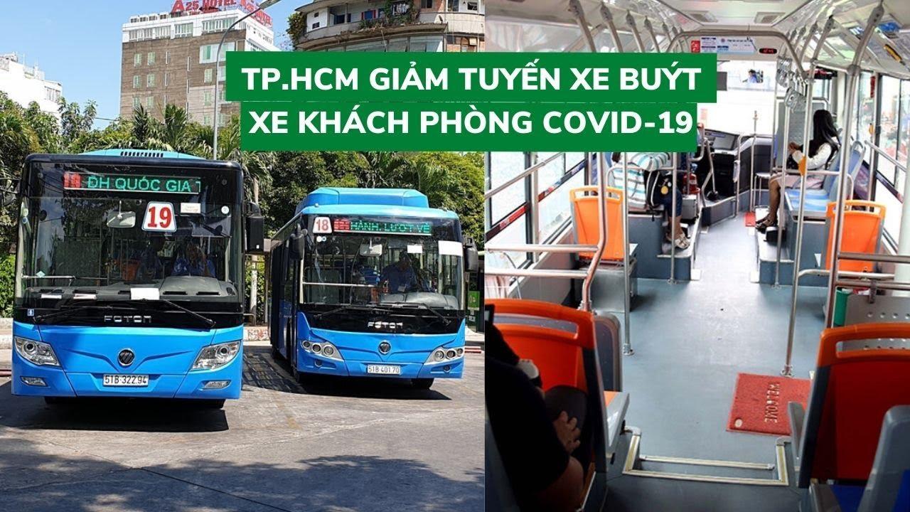 TP.HCM giảm xe khách, chỉ cho xe buýt chở 20 người để ngăn virus corona