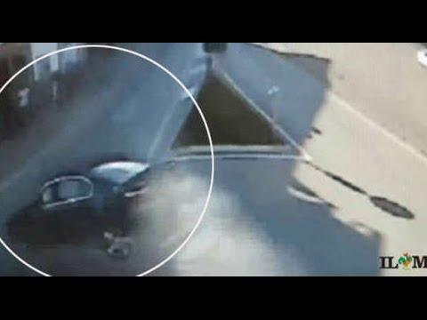 Sassano, ecco il video choc della strage: Bmw lanciata come un proiettile (5 Giugno 2015)