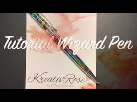 Watch me Resin / DIY / Tutorial Wizard Rainbow Pen by Sophie and Toffee Elves Box Juni 2019