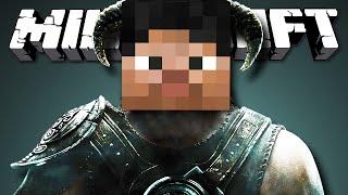 СОЗДАЙ СВОЙ СКАЙРИМ - Minecraft (Обзор Мода)