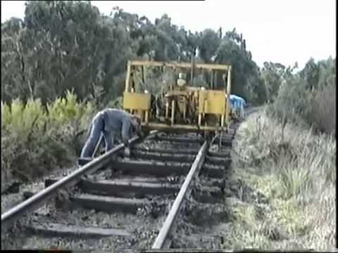 Stony Creek Meeniyan Rail Removal South Gippsland Railway 1994