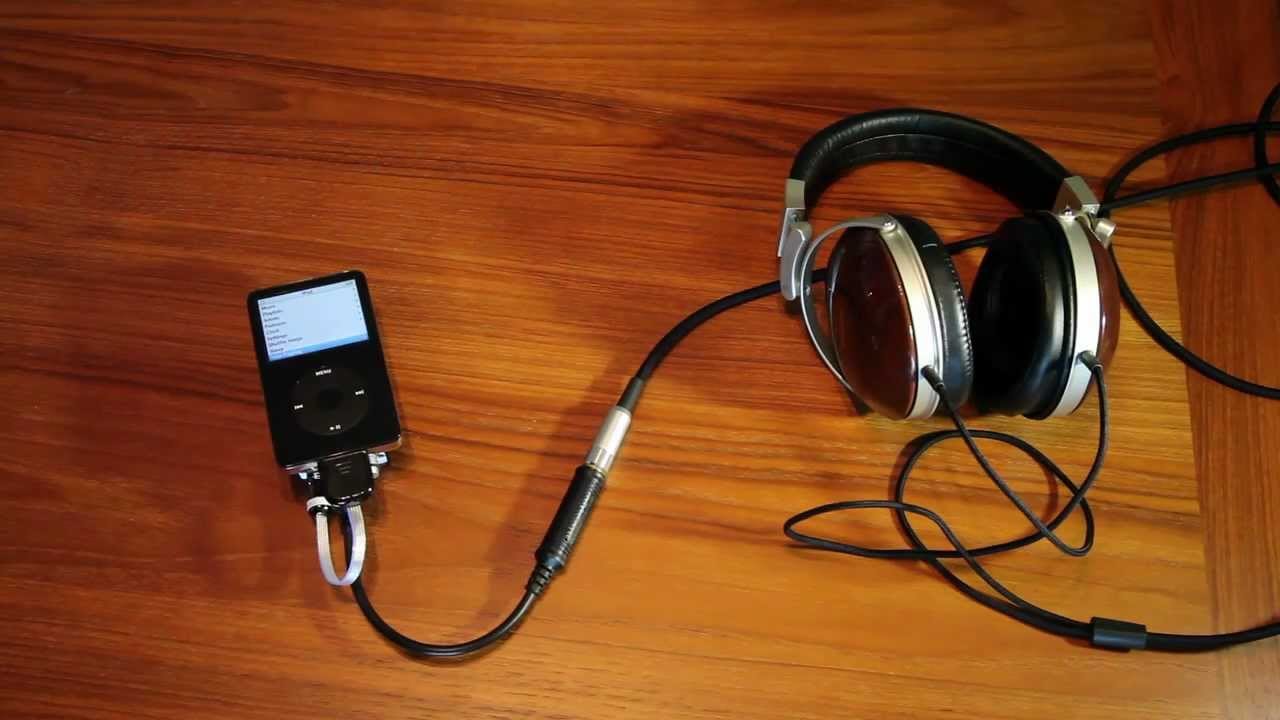 My Portable Audiophile Ipod Setup Youtube