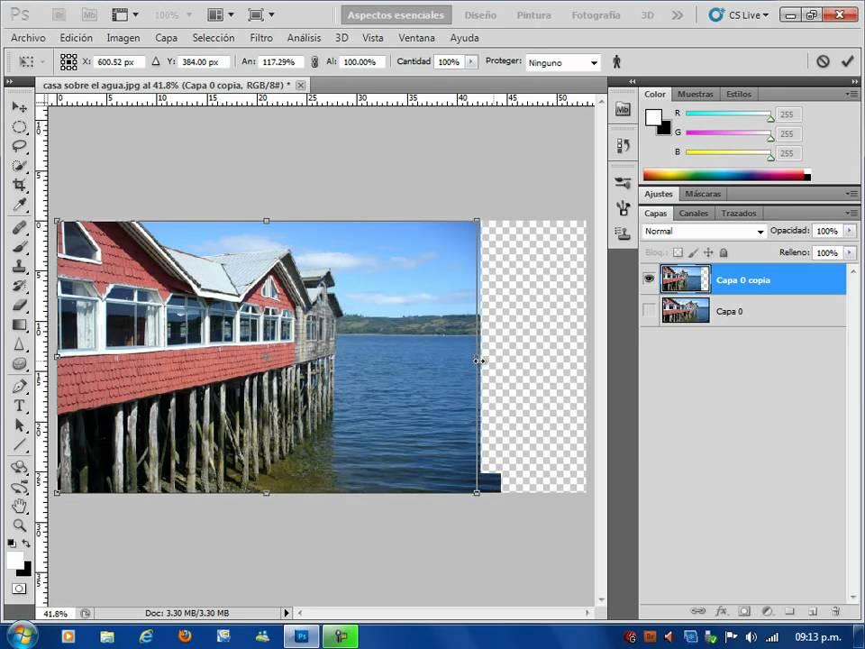 Herramientas de transformacion de photoshop cs5 youtube - Herramientas de photoshop ...