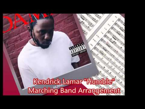 HUMBLE- Kendrick Lamar (Marching Band Arrangement)