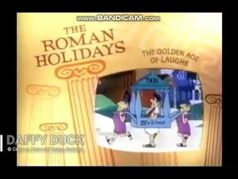 (Extremely Rare) Boomerang (Block): The Roman Holidays Bumpers (2000)