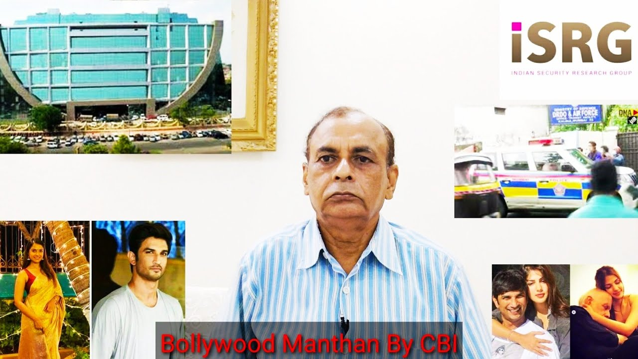 Bollywood Manthan - CBI To Cleanse Bollywood Of Dirt; Many Big Heads Will Roll/NK Sood Ex-RAW