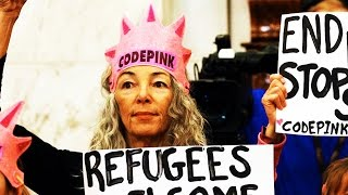 Code Pink Protester Faces Up to a Year in Jail For Laughing At Jeff Sessions Free HD Video