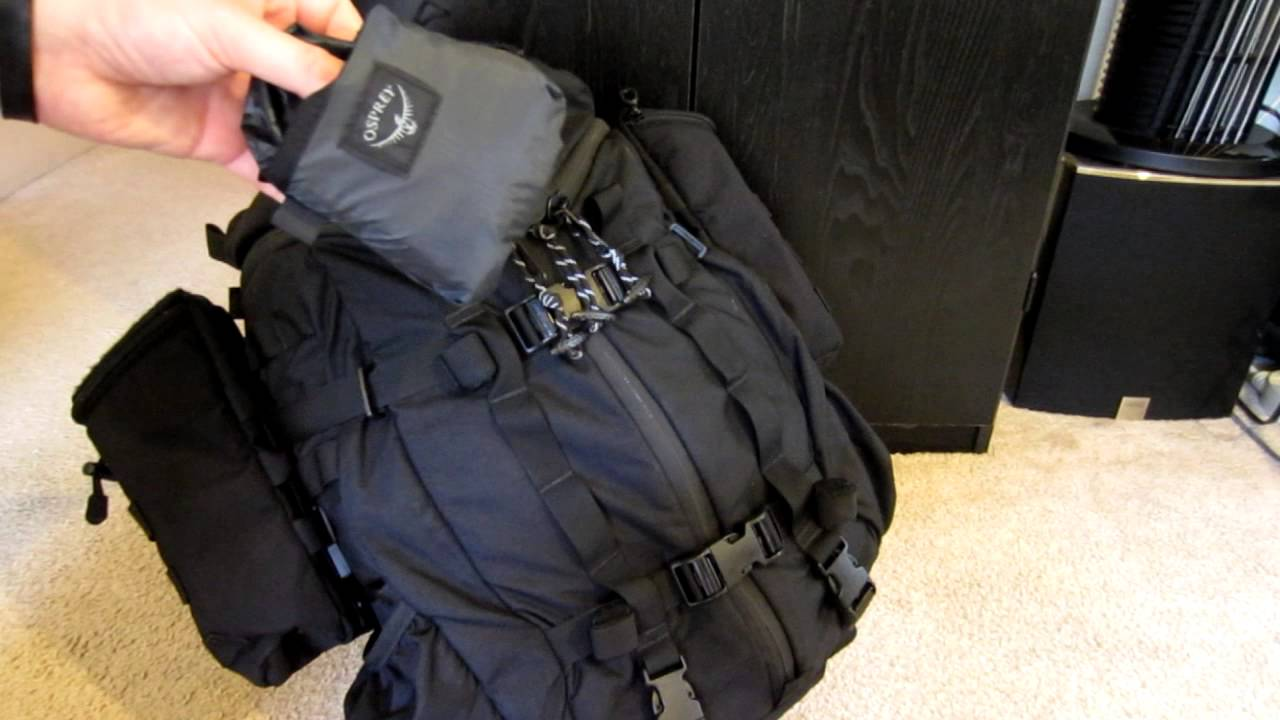 Osprey UL Pack Covers. - YouTube