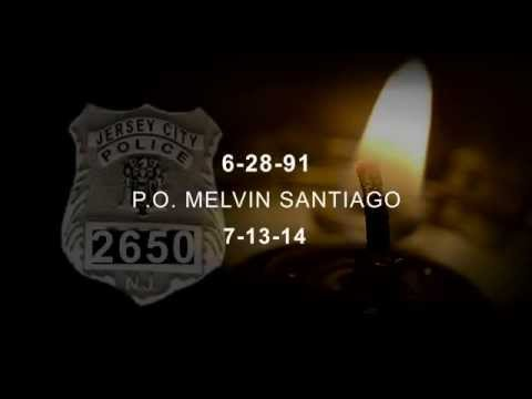 Jersey City Fallen Officer Santiago