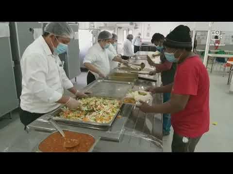 AMWAJ catering service LTD QPSC Staff Mess hall mesaieed camp (Doha Qatar)