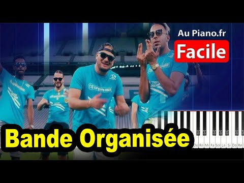 Jul Bande Organisée – Piano Cover RAP INSTRU 2020 Musique Paroles