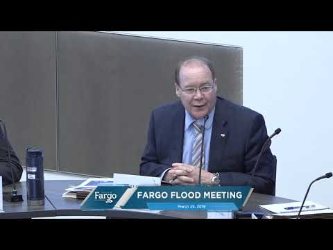 Fargo Flood Meeting - 03.25.2019