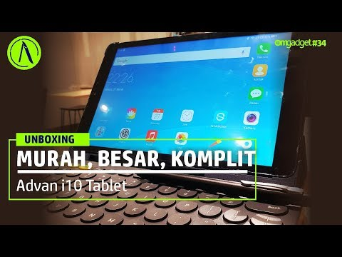 Unboxing Advan i10 Tablet Murah Komplit