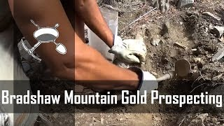 Bradshaw Mountains AZ Gold Prospecting Campout