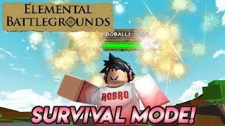 Mode de survie « NOUVEAU » dans les champs de bataille élémentaires! Roblox - France Champs de bataille élémentaires