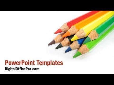 Colored pencil crayons powerpoint template backgrounds colored pencil crayons powerpoint template backgrounds digitalofficepro 02423w toneelgroepblik Choice Image
