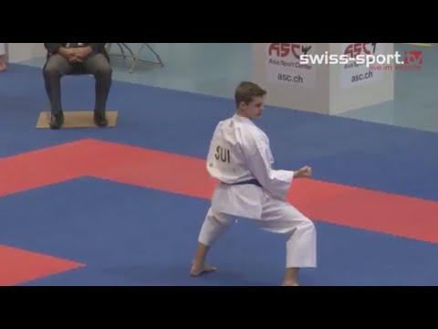 Karate EM Zürich - Day 1 Kata Juniors, Cadets & U21