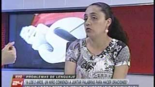 Canal 24 Horas TVN: problemas de lenguaje en los niños