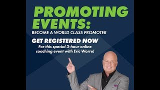 Top Income Earner and Leader, Jeff Beebe, talks the Power of Promoting Events in Network Marketing!!