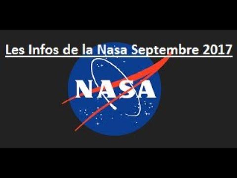 Les Infos de la Nasa Septembre 2017 (All Subtitles Languages)