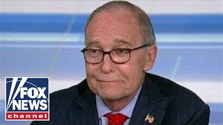Larry Kudlow on strong jobs report, fears of trade war