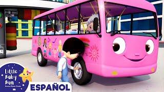 Las Ruedas del Autobús - Autolavado | Canciones Infantiles | Little Baby Bum en Español