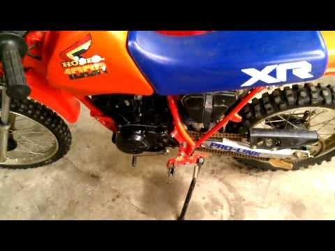 1985 Honda XR100 Fixed and Running