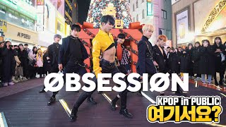 Gambar cover [여기서요?] 엑소 EXO - OBSESSION (Boys ver.) | 커버댄스 DANCE COVER @동성로