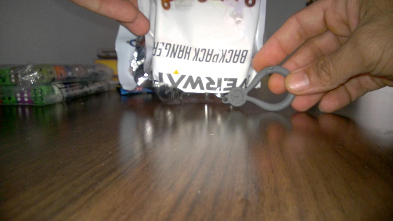 Overwatch Backpack Hangers Unboxong Video