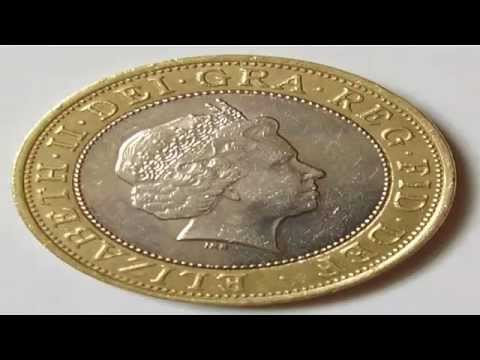 Two Pound Coin A Rare Commemorative
