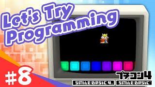 [SmileBASIC 4] Let's Try Programming #8 ~King Jumping Game 1~[Nintendo Switch™]