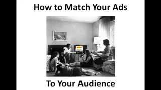 target ads to your audience