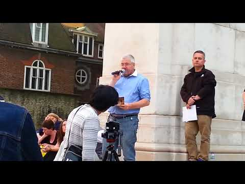 Poem for CECIL THE LION 30/07/16 Old Palace Yard, Westminster