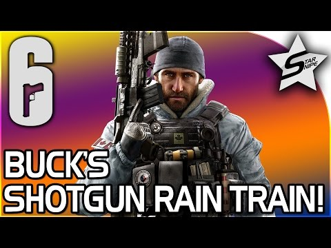 BUCK'S SHOTGUN RAIN TRAIN! - Rainbow Six Siege Gameplay (Rainbow 6 Siege Frost + Buck Gameplay)