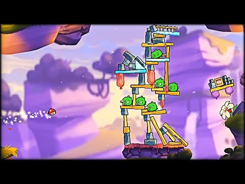 Angry Birds 2 - Colbalt Plateaus - Chirp Valley Walkthrough (part 5 of 6)