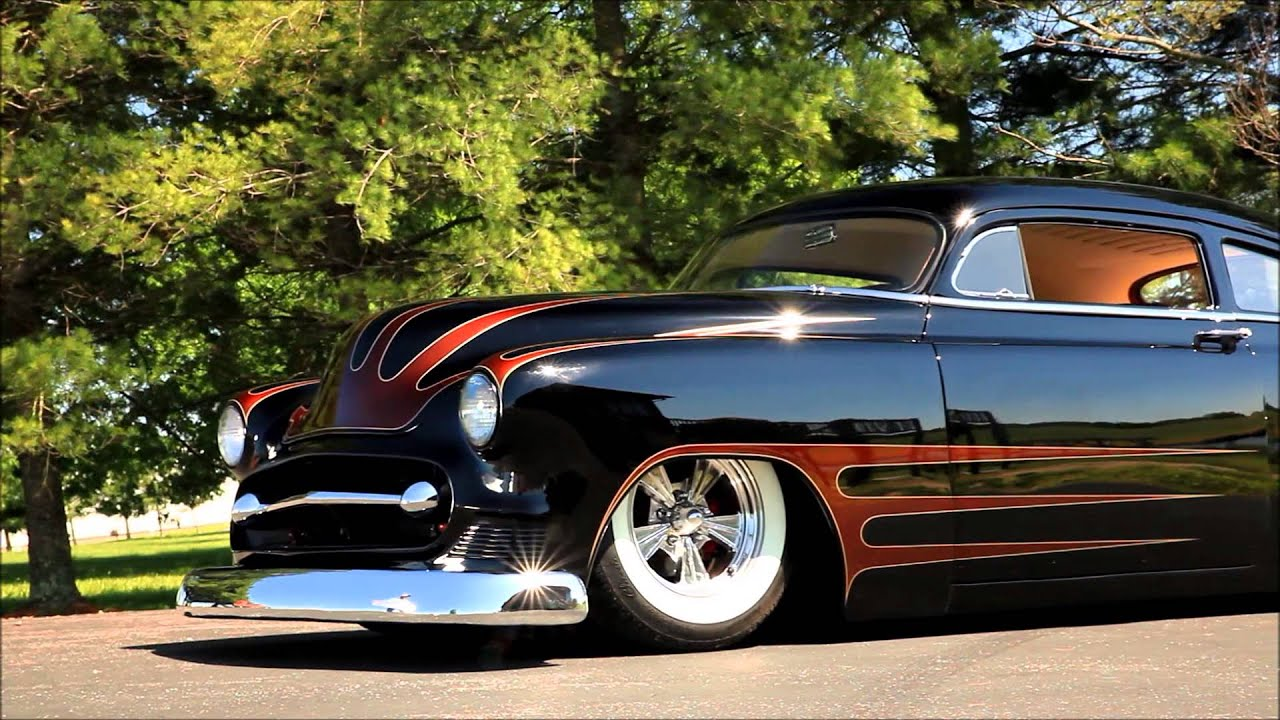 Royal Crown 1951 Chevrolet Fleetline Chopped Kustom Hot
