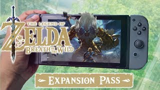 Legend of Zelda Breath of the Wild DLC Pack 1 Review (Video Game Video Review)