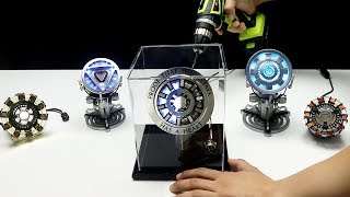 STUNNING 1:1 Iron Man Arc Reactor assembly timelapse - Massive collection