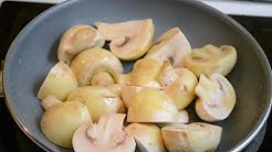 Make Perfect Sauteed Mushrooms - The Only Recipe You will Ever Need