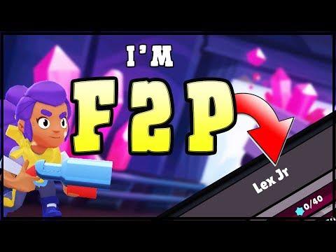 NO GEMMING ALLOWED   Lex Jr F2P account   Brawl Stars