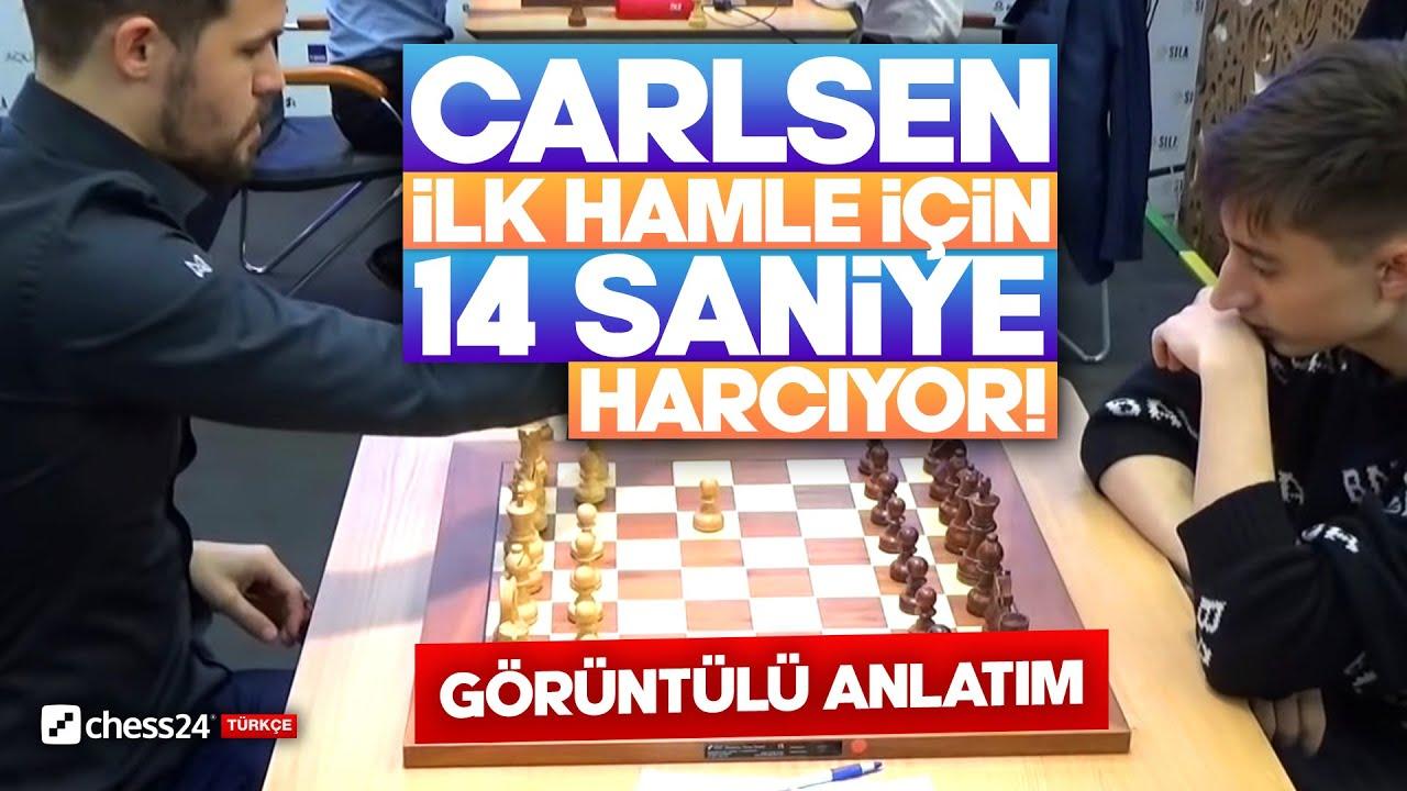 Carlsen İlk 23 Hamle Stockfish'e Karşı   Carlsen vs Dubov