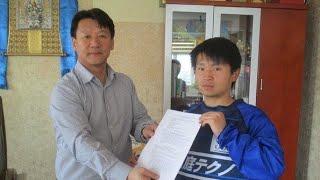 モンゴルリーグプロサッカー選手/石川清太選手(オレンジ8番・WPSCアカデミー出身)、FKのシーン