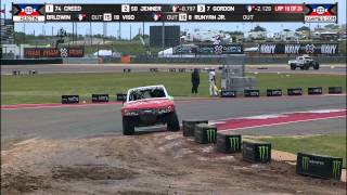 Apdaly Lopez wins Stadium Super Trucks gold