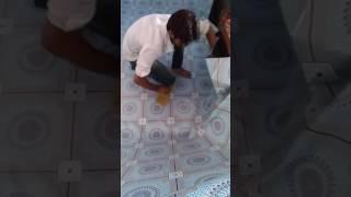 Pvc carpet full pesting