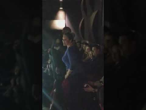 Crazy Woman In Theater Wont Shut Up Gets Mad Then Gets Arrested! | Freakout Moment