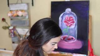 Beauty and The Beast Time-lapse Painting